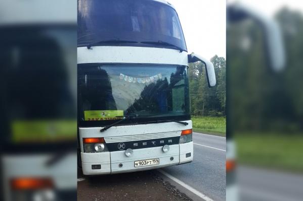Автобус туроператора трижды подвёл пассажиров