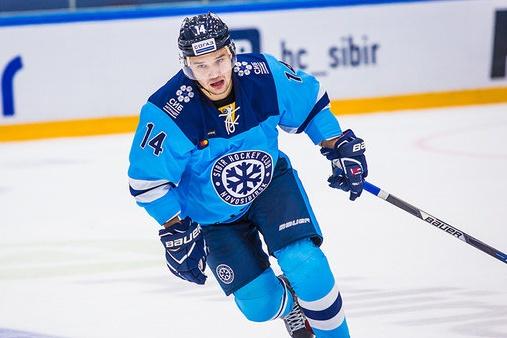 Егор Дугин пополнил состав хоккейной «Сибири» в конце августа