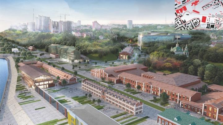Новая жизнь на заводе Шпагина: в Перми представили архитектурную концепцию здания галереи