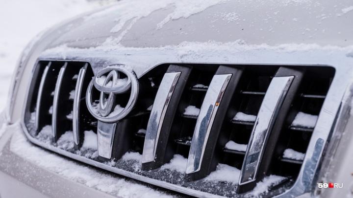 В Перми ищут водителя на белой Toyota, пропавшего через пять минут после звонка родным