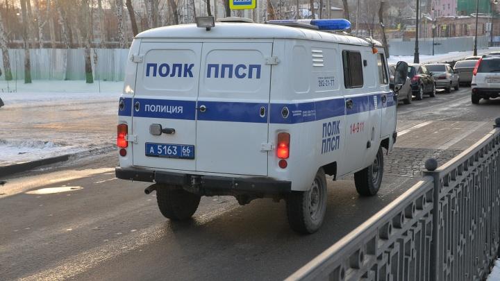 """В Екатеринбурге полицейские вычислили подростка, который """"заминировал"""" свою школу"""