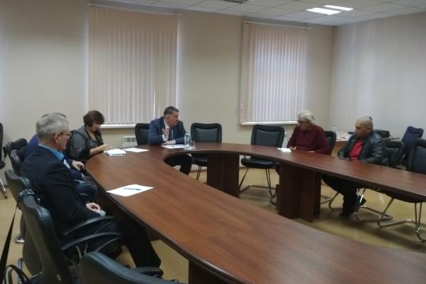 Виталий Ковригин встретился с врио министра здравоохранения