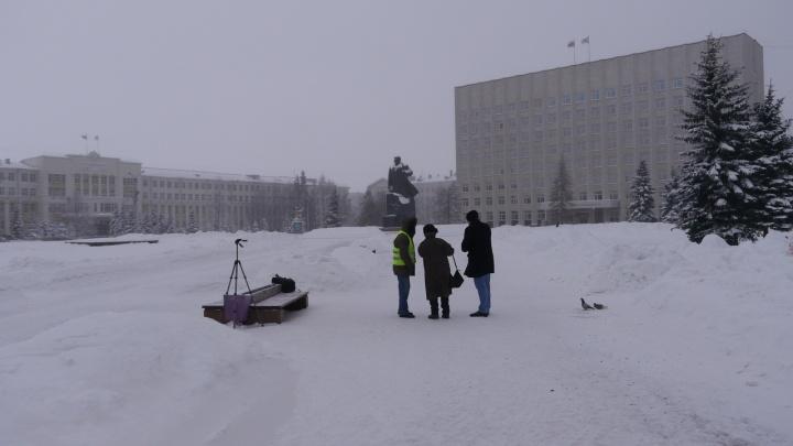 В Архангельске с опозданием начали акцию, из-за которой не провели пикет в защиту Конституции