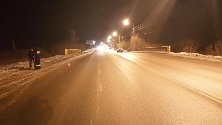 В Кургане на шоссе Тюнина сбили пешехода