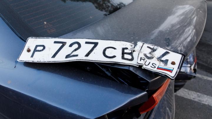 «Похоже на подставу»: участники аварии с Lexus ищут настоящего водителя иномарки