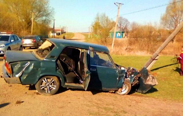 В Башкирии водитель устроил ДТП в свой день рождения