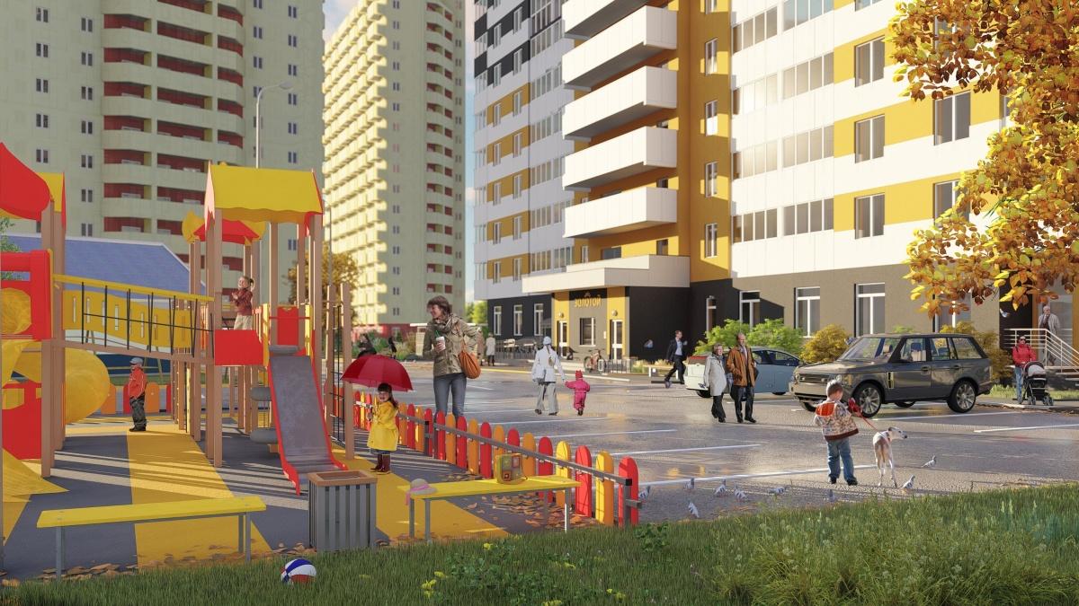 ЖК«Золотой» в Перми: дом начинается с уютного холла