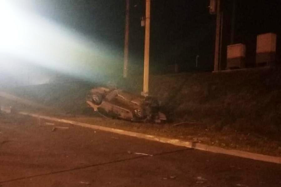 Водитель скрылся с места аварии до приезда ГИБДД