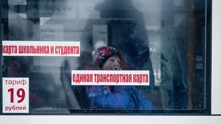 Мэрия запретила перевозчику возить пассажиров по картам школьника и студента