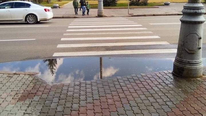 В мэрии Красноярска рассказали, когда же выберут подрядчика для ремонта проспекта Мира