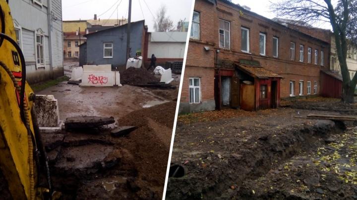 Уфимка о ремонте на улице Мустая Карима: «С риском сломать ноги прыгаем в темноте через канавы»
