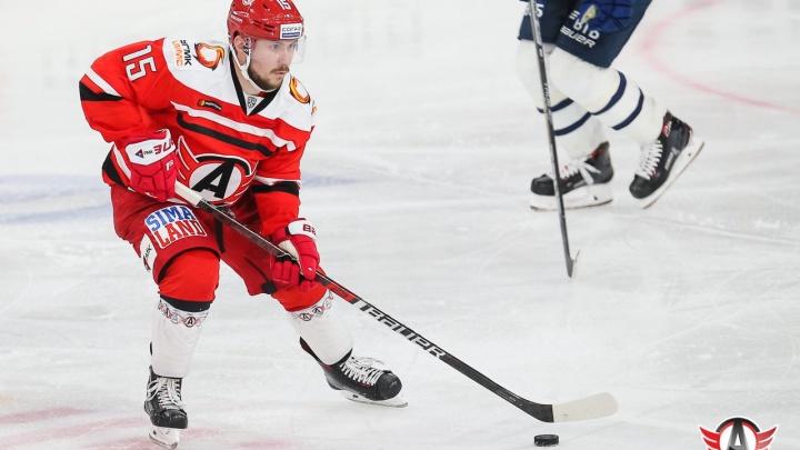 Один из лучших снайперов КХЛ Анатолий Голышев вернулся в состав «Автомобилиста» после травмы
