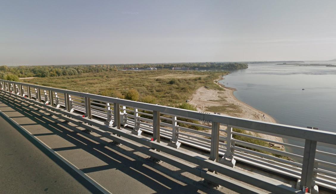 Пожар произошел в затоне около Нижнего Новгорода