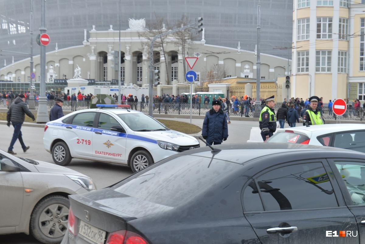 Куйвашев торжественно открыл «Екатеринбург Арену»