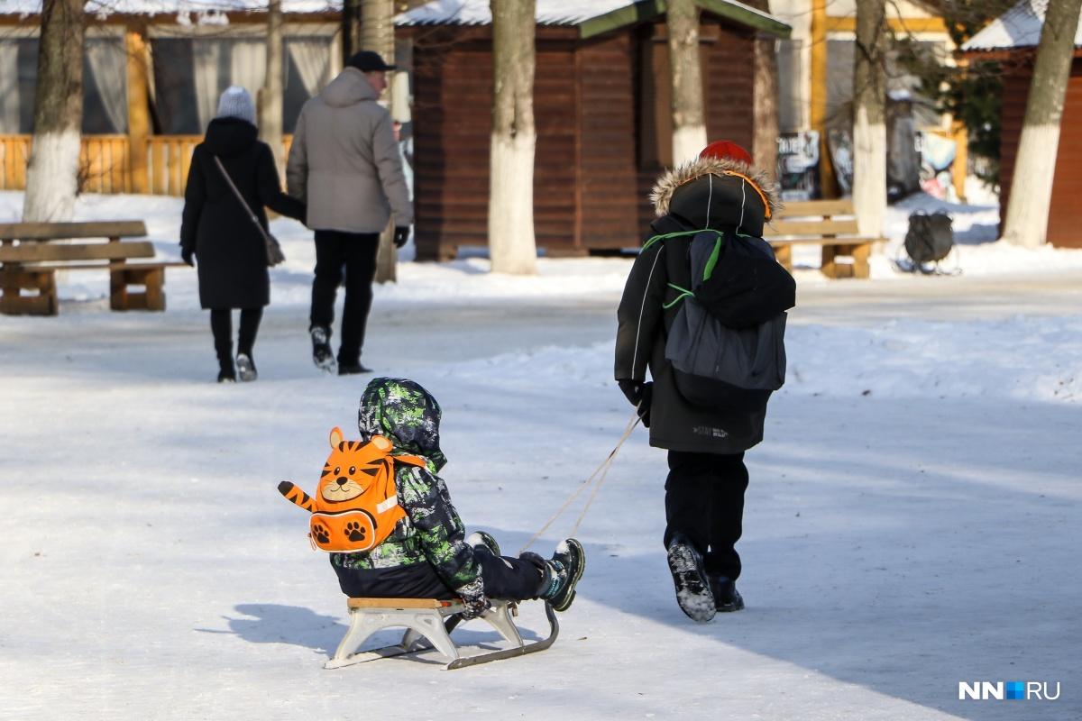 Пусть ваши дети больше гуляют