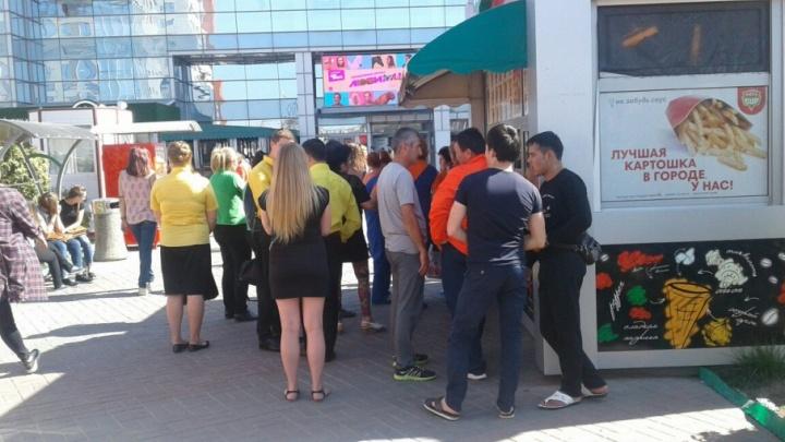 В Волгограде эвакуировали посетителей ТРЦ «Акварель»