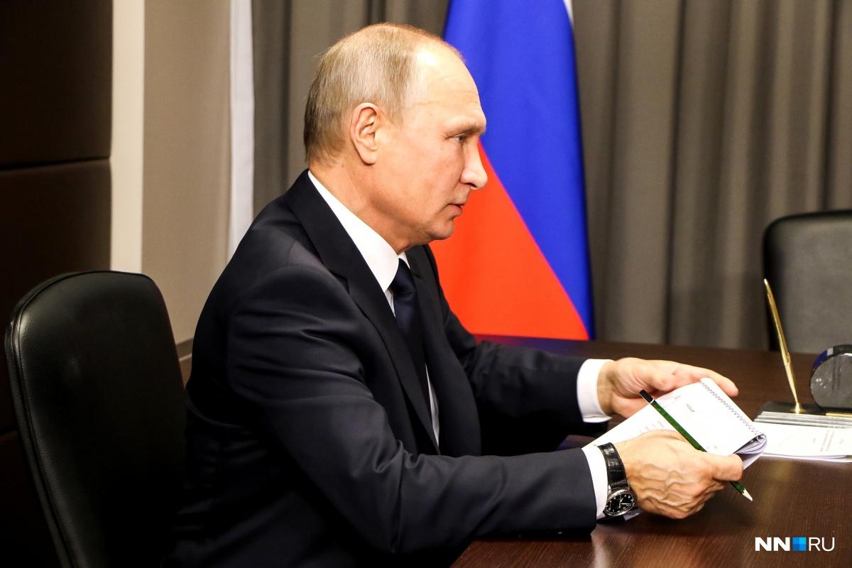 Владимир Путин подписал указ о награждении погибших испытателей орденом Мужества