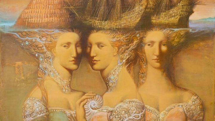В Екатеринбурге покажут картины, которые похожи на византийские фрески и работы да Винчи