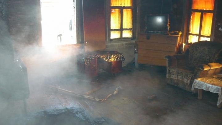 На выходных в Зауралье в пожарах погибли три человека