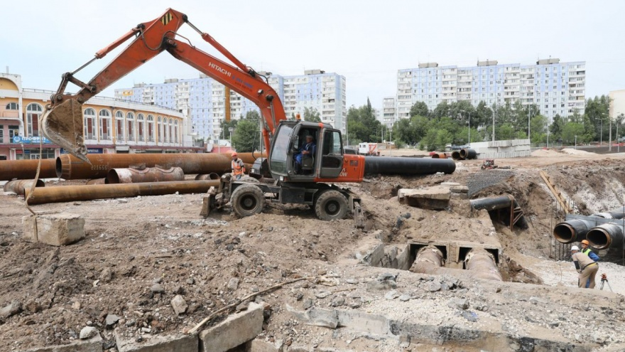 В Самаре отложили срок завершения работ по перекладке теплосети на Ташкентской