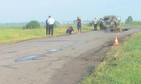 Не справился с управлением. На зауральской трассе погиб 25-летний мотоциклист
