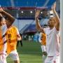 Сборная Туниса провела тренировку на «Волгоград Арене» перед матчем с англичанами