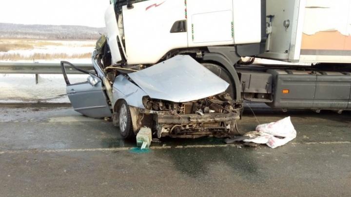 На трассе М-5 в Челябинской области восстановили движение после ДТП с двумя погибшими