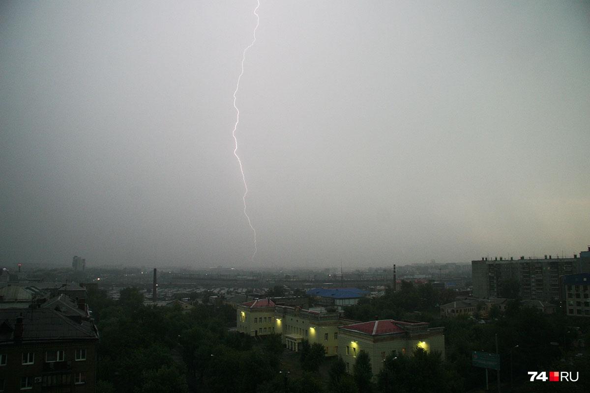 В отдельных районах региона ожидаются град и штормовой ветер