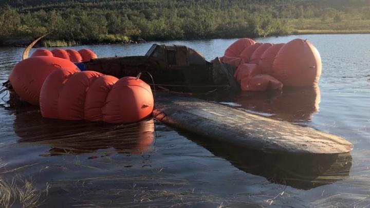 В Новосибирск привезут штурмовик Ил-2, найденный на дне озера под Мурманском
