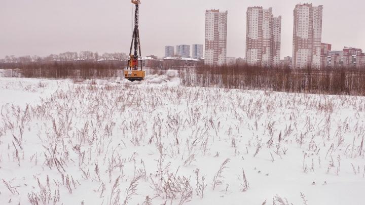 В Перми на месте бывшего ипподрома началось строительство ТРК «Планета»