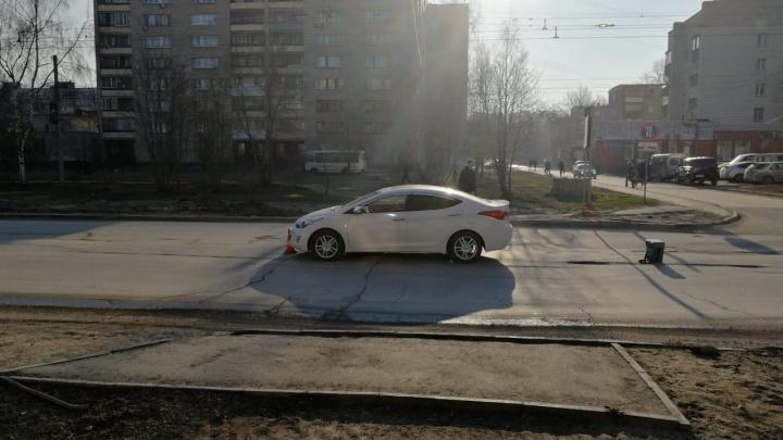 На Затулинке школьник попал под автомобиль на пешеходном переходе