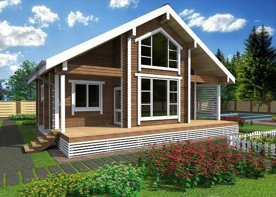 Срубили цены: горожанам предложили деревянный дом за 1,9 млн и страховку в подарок