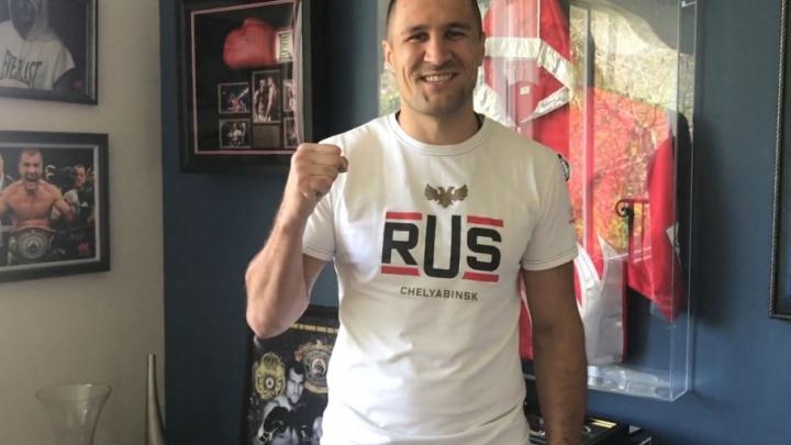 Сергей Ковалёв поблагодарил работников ЧТЗ за футболки с символикой предприятия