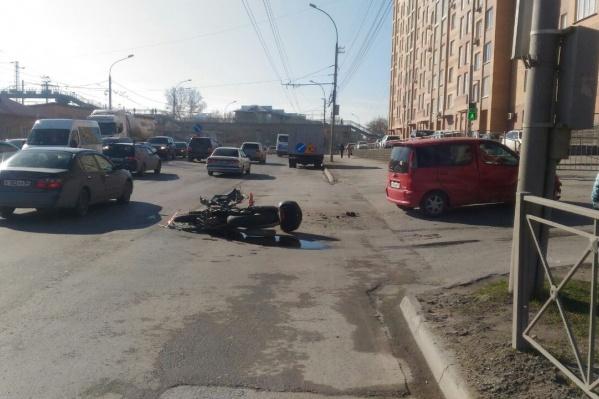 «Тойота» перед аварией поворачивала