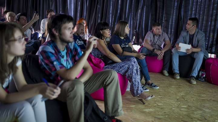 В Новосибирске открылся бесплатный кинотеатр в Центральном парке