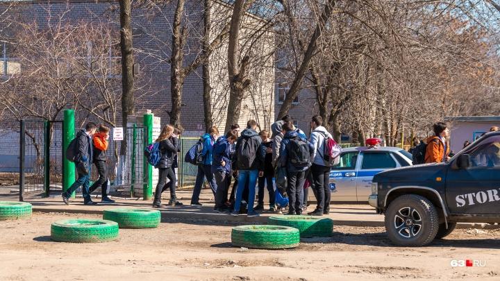 В Самарской области около школы толпа подростков напала на мальчика