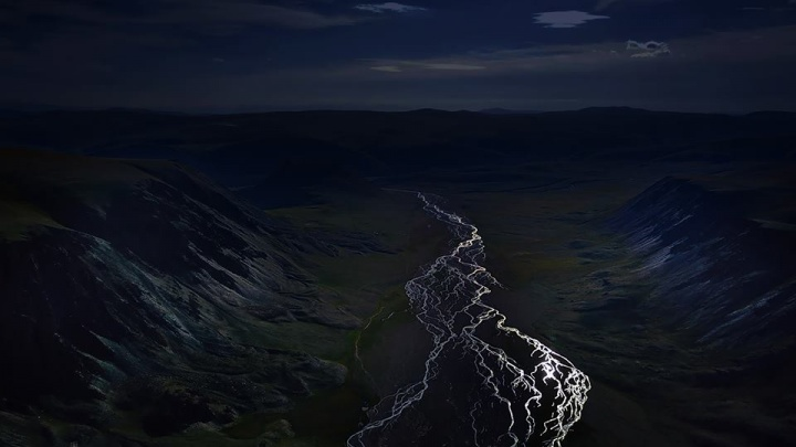 Новосибирец покорил жюри престижного конкурса шикарным снимком алтайской реки