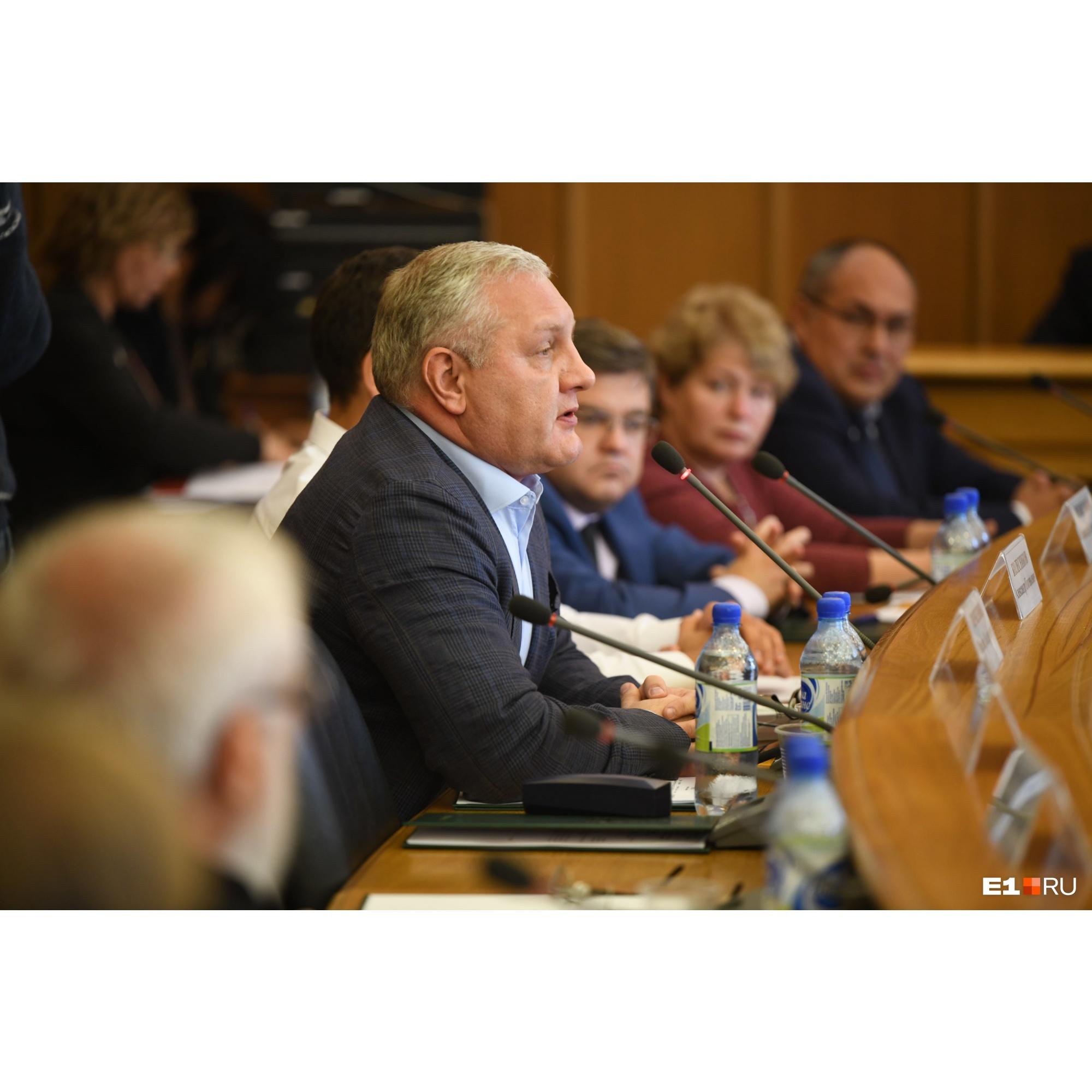 Депутат Колесников всегда эмоционален
