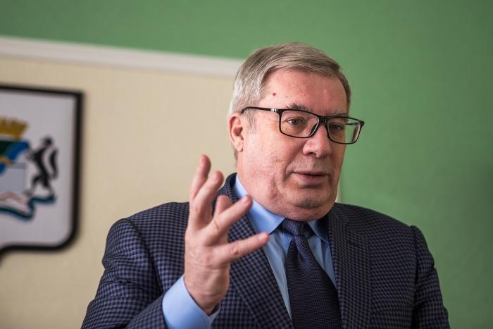 Виктор Толоконский перестал был советником школы управления Сибирского института управления РАНХиГС, но остался на посту главного советника мэра Новосибирска