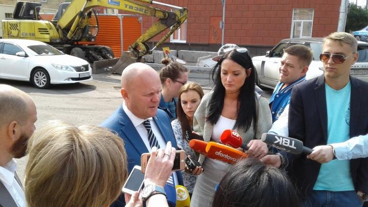Заместитель мэра объявил даты открытия движения по улице Ленина