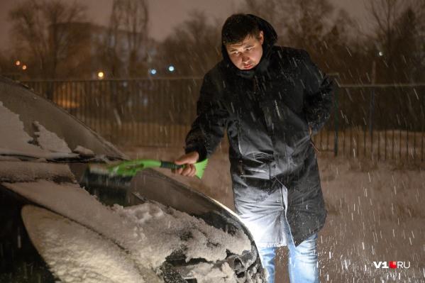 На смену снегу идут кратковременные дожди
