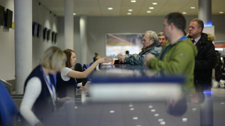 В Толмачёво почти на сутки задержали рейс в Тыву