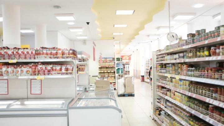 Уборщица ТРК «Семья» украла продукты из магазина «Пятерочка»