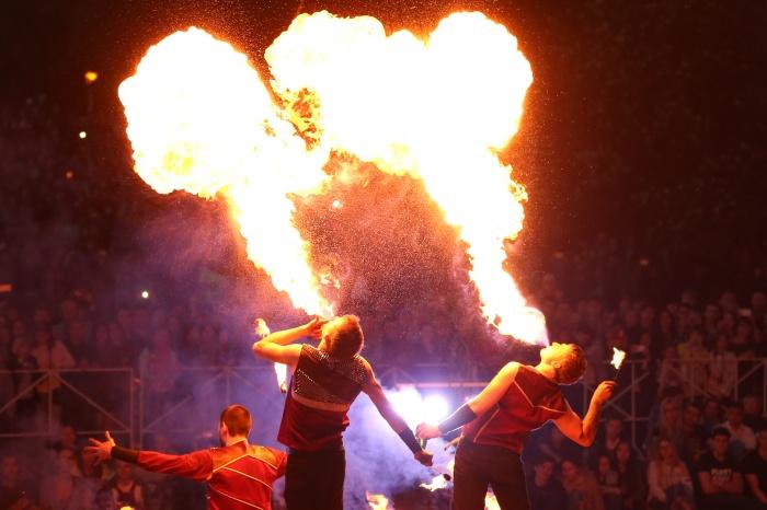 В парке отдыха «Звезда» покажут огненное шоу