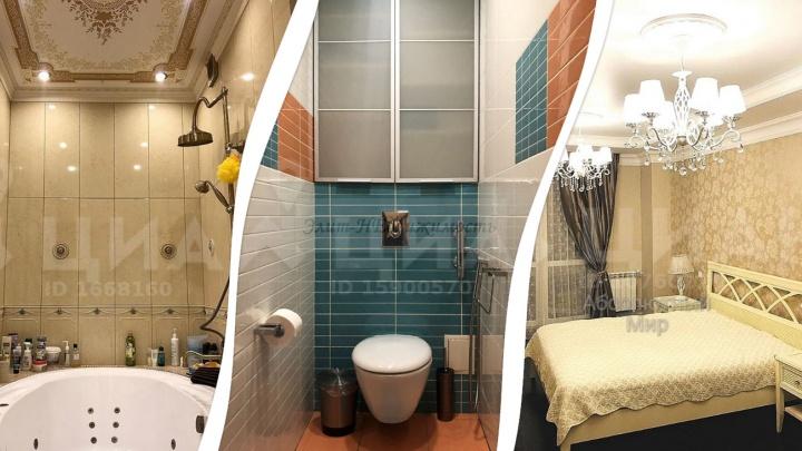 Сауна в квартире, биде и джакузи: как выглядят самые дорогие квартиры под съем в Уфе
