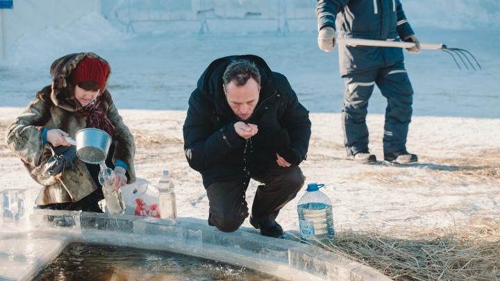 Роспотребнадзор просит тюменцев не пить «святую» воду из купелей. Объясняем почему