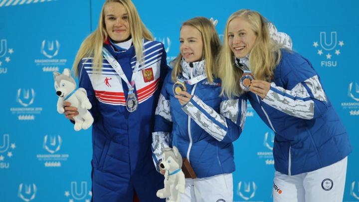 Курганская спортсменка Марина Вяткина завоевала четыре медали на Всемирной универсиаде