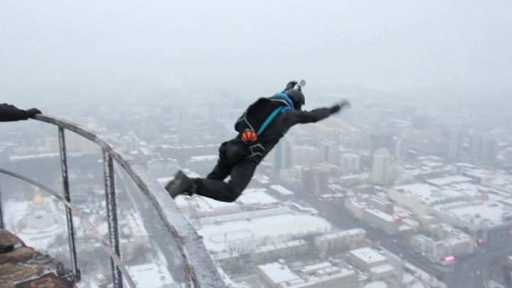 На парашютистов, которые прыгнули с недостроенной телебашни, отказались заводить уголовное дело