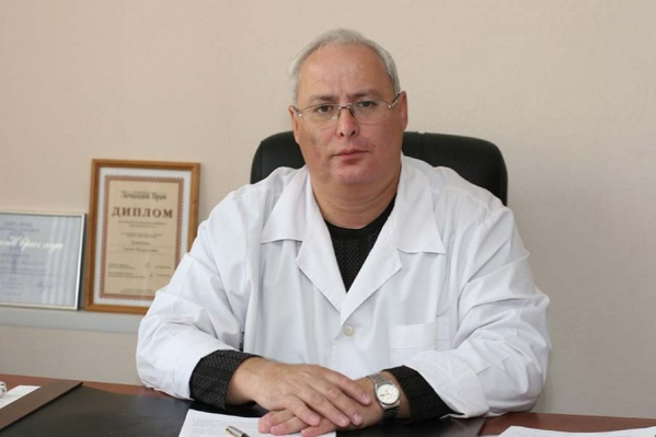 Сергей Китайчик больше 20 лет возглавляет горбольницу № 5