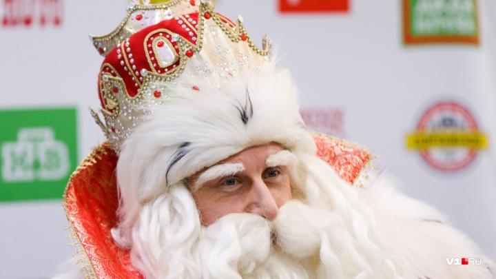 Путешествие охватит 28 городов: российский Дед Мороз второй год подряд проедет мимо Волгограда